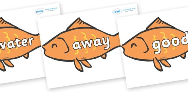 Next 200 Common Words on Goldfish - Next 200 Common Words on  - DfES Letters and Sounds, Letters and Sounds, Letters and sounds words, Common words, 200 common words