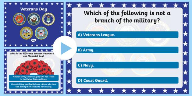 USA Veterans Day PowerPoint