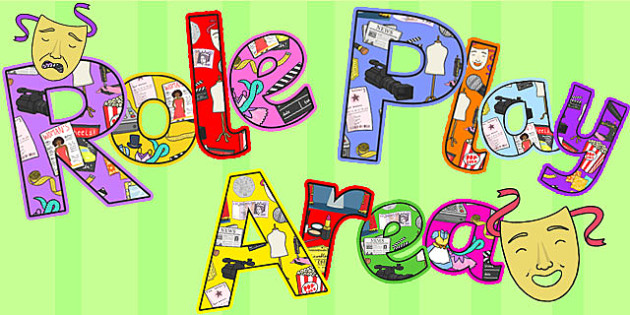 Role Play Area Display Lettering - role play area, display lettering, display letters, lettering, display alphabet, lettering for display, alphabet letters