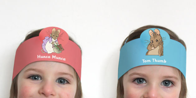 The Tale of Two Bad Mice Role Play Headband - two bad mice, role-play