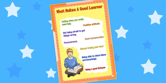 A4 Good Learners Poster KS2 - ks2, poster, good learners, a4