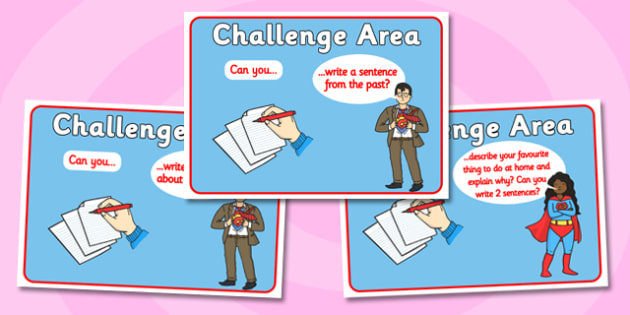 Challenge Area Cards Booster Literacy - Challenge, literacy, challenge are, can you, gifted and talented, challenges, challenge resources, Banner, Foundation Stage Area Signs, Classroom labels, Area labels, Area Signs, Classroom Areas, Poster, Displa