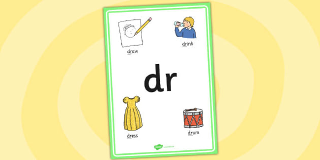 Phase 4 dr Initial Blend Poster - phase four, blends, literacy