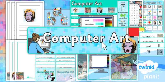 PlanIt - Computing Year 2 - Computer Art Unit Additional Resources - planit, computing, year 2, computer art, additional resources