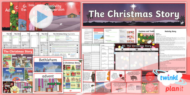 PlanIt - RE Year 6 - The Christmas Story Unit Pack