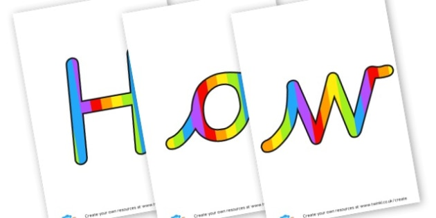 How are we feeling - Display Lettering - My Emotions Display Primary Resources, education, home school