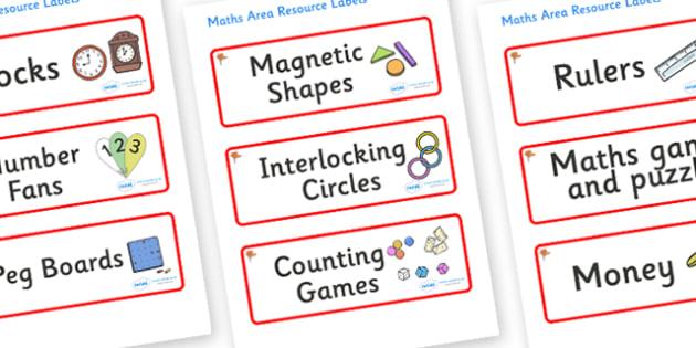 Ginko Tree Themed Editable Maths Area Resource Labels - Themed maths resource labels, maths area resources, Label template, Resource Label, Name Labels, Editable Labels, Drawer Labels, KS1 Labels, Foundation Labels, Foundation Stage Labels, Teaching