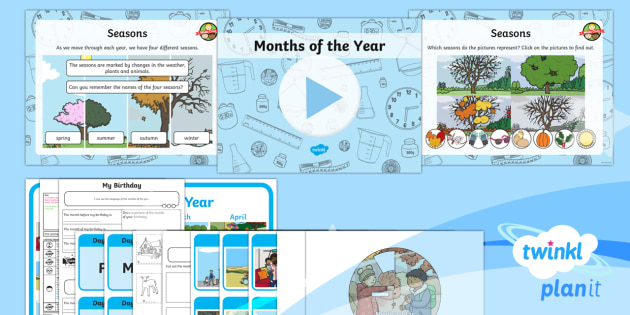 PlanIt Y1 Measurement Lesson Pack - Measurement, measures, language related to dates, time vocabulary, months of the year, months, seaso