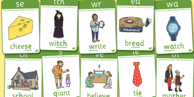 Active Literacy Phonics Programme Stage 3 Display Posters - 3