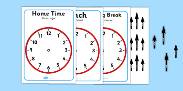 Split Pin Display Clocks Polish Translation - polish, display clocks, split pin clocks, split pin, display, clocks, split pin display clock