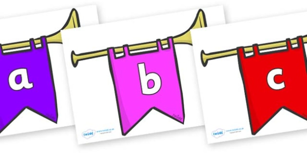 Phase 2 Phonemes on Banners - Phonemes, phoneme, Phase 2, Phase two, Foundation, Literacy, Letters and Sounds, DfES, display