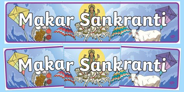 Makar Sankranti Display Banner