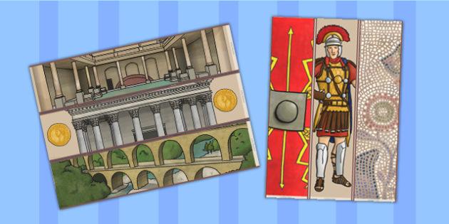 The Romans Display Borders - romans, display borders, borders