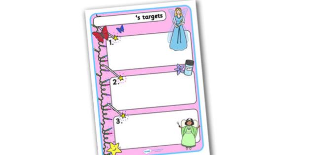 Themed Target Sheets Fairies - Target Sheets, Themed Target Sheets, Fairy Target Sheets, Fairy Themed, Fairy Themed Target Sheets, Fairies