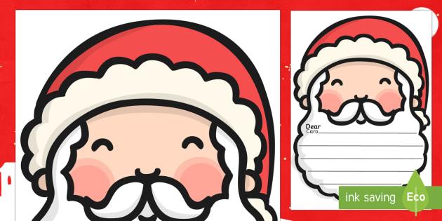 Letter to Santa Template English/Italian - Letter To Santa Template - writing,letter to santa, write your own letter to santa, wishlist, christ