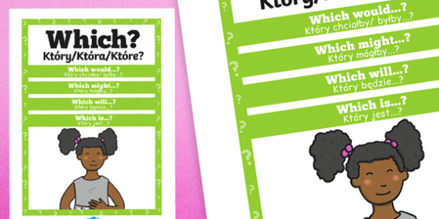 Which Question Poster Polish Translation - posters, displays, display, questions