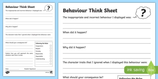 Primary Think Sheet Writing Activity Sheet -Australia, worksheet