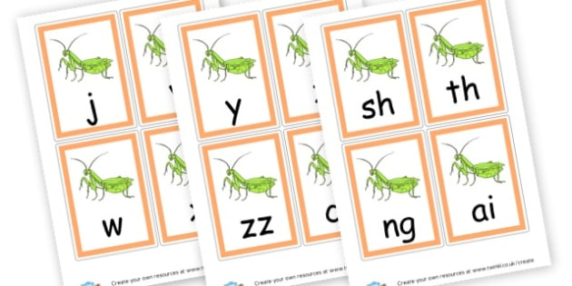 Phase 3 Sounds Cards - Phase 3 Display Phonemes Primary Resources, Display, Letters, Word