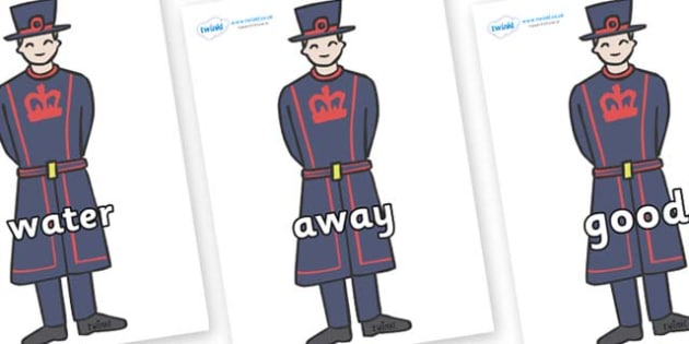 Next 200 Common Words on Beefeaters - Next 200 Common Words on  - DfES Letters and Sounds, Letters and Sounds, Letters and sounds words, Common words, 200 common words