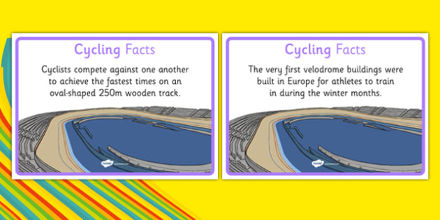 The Olympics Cycling Display Facts - the olympics, 2016 olympics, rio olympics, rio 2016, cycling, display facts