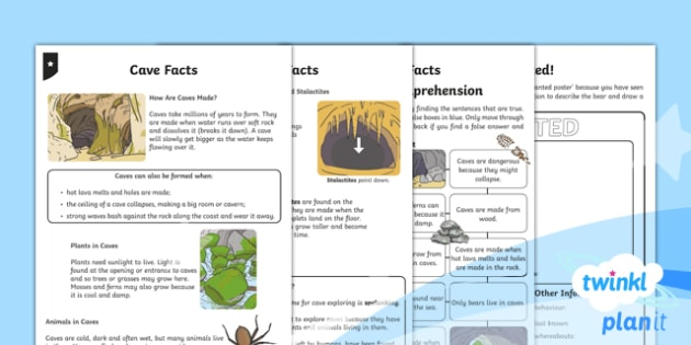 PlanIt Y1 Explorers: To Support Teaching on We're Going on a Bear Hunt Home Learning Tasks  - Explorers, Bear Hunt, home learning,  caves, reading comprehension, wanted poster, bear