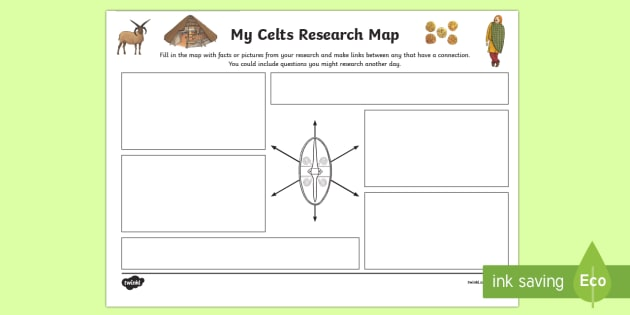 The Celts Research Map-Scottish