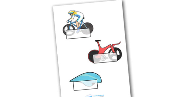 The Olympics Cycling Self Registration - Cycling, Olympics, Olympic Games, sports, Olympic, London, 2012, Self registration, register, editable, labels, registration, child name label, printable labels, activity, Olympic torch, events, flag, countrie