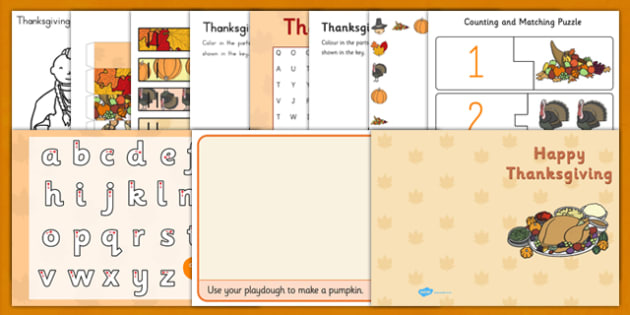 Parents Thanksgiving Pack - parents, thanksgiving, pack, sack