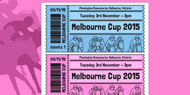 The Melbourne Cup Role Play Tickets - australia, the melbourne cup, role play, tickets