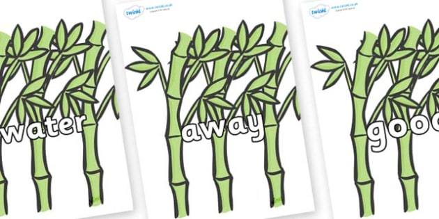 Next 200 Common Words on Bamboo - Next 200 Common Words on  - DfES Letters and Sounds, Letters and Sounds, Letters and sounds words, Common words, 200 common words