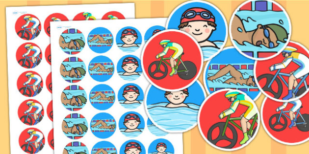 The Commonwealth Games Stickers - sports, pe, games, rewards