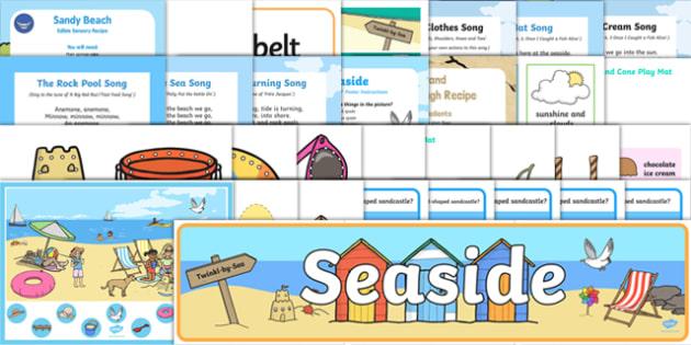 Childminder The Seaside Resource Pack