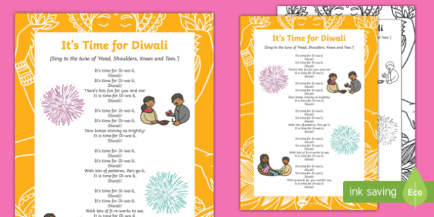 It's Time for Diwali Song