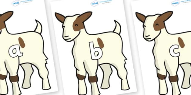 Phase 2 Phonemes on Baby Goats - Phonemes, phoneme, Phase 2, Phase two, Foundation, Literacy, Letters and Sounds, DfES, display