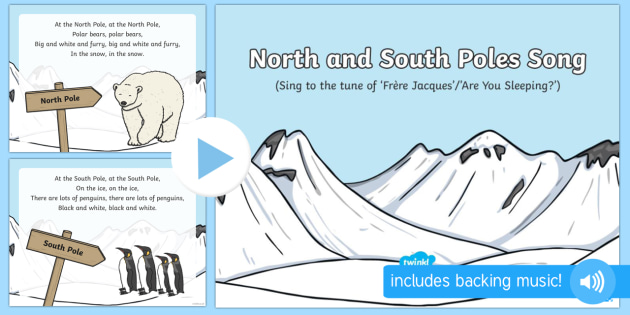 North and South Poles Song PowerPoint