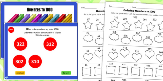 Year 3 Numbers to 1000 Lesson 4 Teaching Pack - place value, math