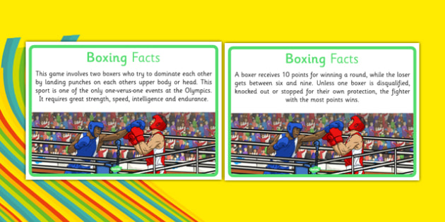 The Olympics Boxing Display Facts - the olympics, rio olympics, 2016 olympics, rio 2016, boxing, display facts