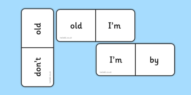 Phase 5 High Frequency Words Dominoes - dominoes, phase 5, words