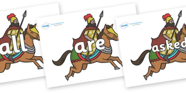 Tricky Words on Egyptian Warriors - Tricky words, DfES Letters and Sounds, Letters and sounds, display, words