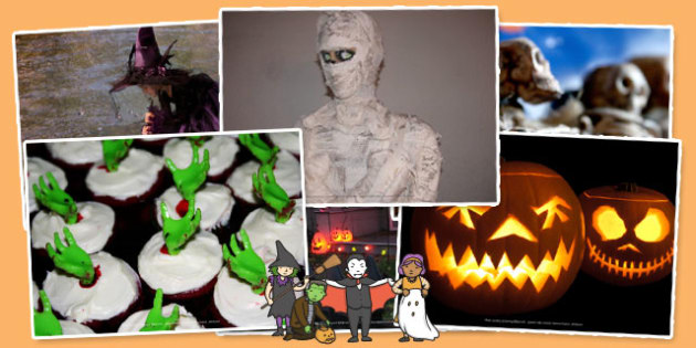 Halloween Photo Clip Art Pack - photos, pictures, picture, art