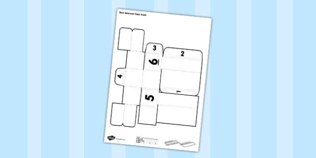Make a Block Character Activity - character, activity, block