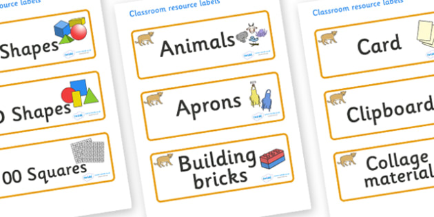 Puma Themed Editable Classroom Resource Labels - Themed Label template, Resource Label, Name Labels, Editable Labels, Drawer Labels, KS1 Labels, Foundation Labels, Foundation Stage Labels, Teaching Labels, Resource Labels, Tray Labels, Printable labe