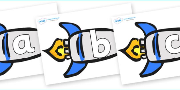 Phoneme Set on Rockets (Plain) - Phoneme set, phonemes, phoneme, Letters and Sounds, DfES, display, Phase 1, Phase 2, Phase 3, Phase 5, Foundation, Literacy