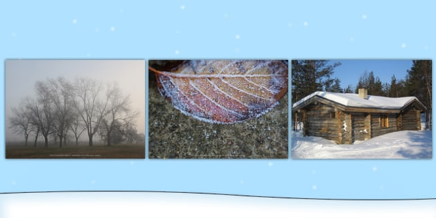Winter Photo Clip Art Pack - Seasons, Photos, Displays, Display