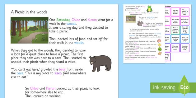 Question And Word Listening Story - listen, SEN, SEN stories