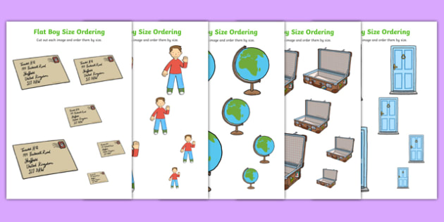 Flat Boy Size Ordering - flat stanley, flat boy, jeff brown, size ordering