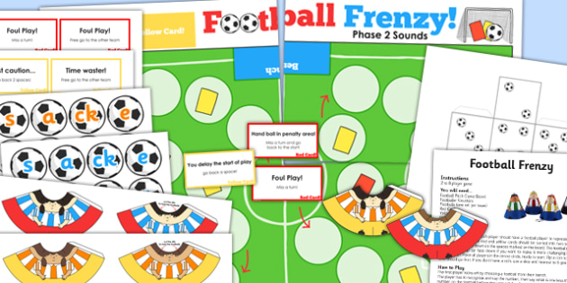 Phase 2 Sounds Football Board Game - phase two, world cup, pe