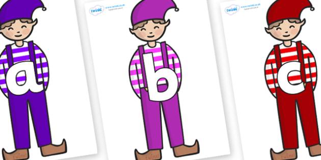Phoneme Set on Elf (Boy) - Phoneme set, phonemes, phoneme, Letters and Sounds, DfES, display, Phase 1, Phase 2, Phase 3, Phase 5, Foundation, Literacy