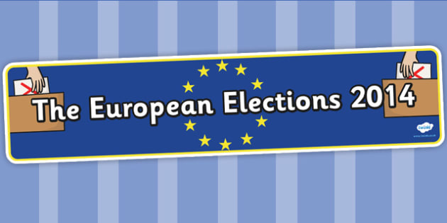 European Elections 2014 Display Banner - header, election, europe