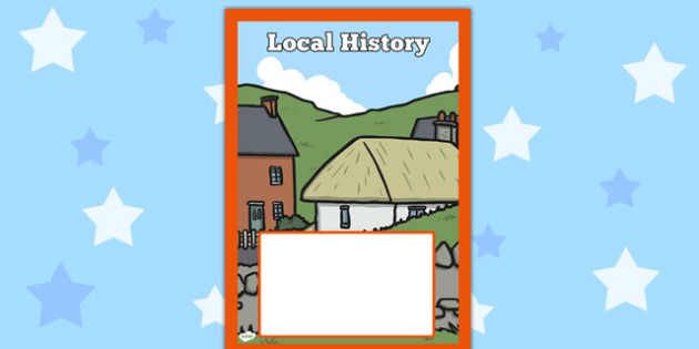 Local History Book Cover - local history, book cover, book, cover